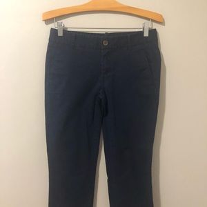 J. Crew Factory Frankie blue chino pant